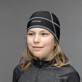 GripGrab Skull Cap Juniors Black